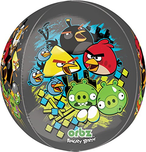 Amscan International Orbz Angry Birds Party Zubehör