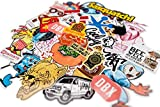 100 Stück Aufkleber für Snowboard Skateboard Fahrrad Auto Koffer Laptop Notebook Handy Schrank Deko | wasserdicht | Cooles Sticker Set für Kinder Erwachsene | Assortiert Graffiti Look Stickerbomb | Beyond Dreams |