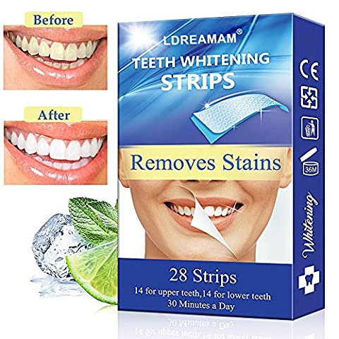 Blanchiment des dents,Blanchiment Dentaire,Bandes Blanchissantes,Teeth Whitening Strips - 28 Whitestrip de traitement White Strips Whitestrips White Stripes Bleaching Blanchiment des dents Blanchisseur Teeth Blanchir Soins Dent Dentaire