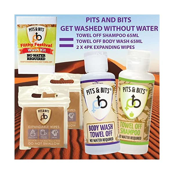 Pits and Bits Filthy Festival Wash Kit
