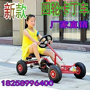 Les nouveaux magasins d'usine pédale de véhicule kart karting Childs vélo à quatre roues motrices pour les enfants adultes