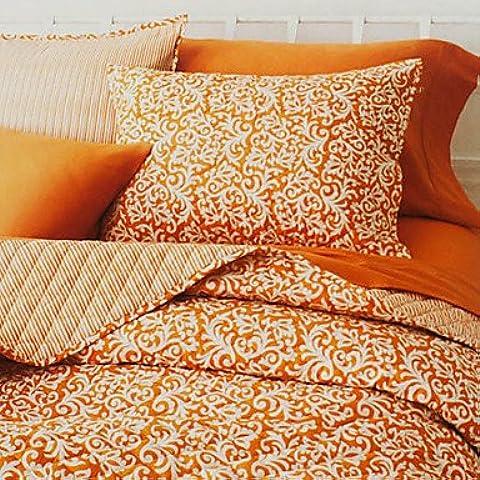 YangR*Set Quilt, 3-pezzo 100% cotone in stile country albicocca Arabesque