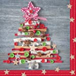 "Christmas napkins ""Organic Tree"" - 33..."