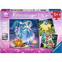 Ravensburger - Puzzle enfant - Disney Princess - 3X49 Pièces