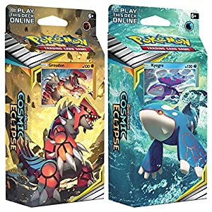 Pokémon POK80596 TCG: Sun & Moon 12 Cosmic Eclipse Theme Deck (One at Random)