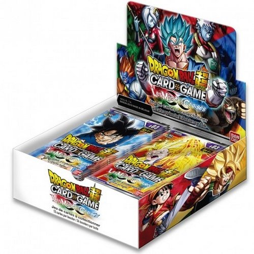 Dragonball Z - Dragon Ball Super Card Games 3- Set mit 24 Boosters, 605282 (Dragon Ball Z Set)
