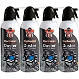 Dust-Off DPSXL4 Compressed Gas Duster (Pack of 4)