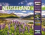 Neuseeland 2019, Wandkalender im Querformat (54x42 cm) - Reisekalender mit Monatskalendarium (Reisen mit allen Sinnen)