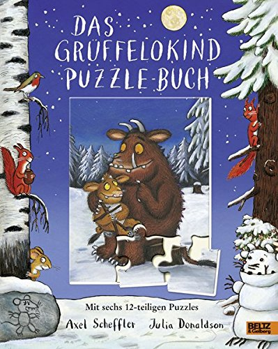 Buchseite und Rezensionen zu 'Das Grüffelokind-Puzzle-Buch: Mit sechs 12-teiligen Puzzles' von Axel Scheffler