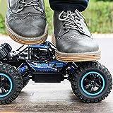 Ycco Vehículo de alta velocidad eléctrico recargable Buggy Race Mini RC Todo terreno Super Grande 4WD Coche de control remoto de alta velocidad fuera de carretera 45 km/h 2.4GHz Juguetes for niños M
