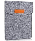 ProCase 6 Pulgadas Funda de Fieltro, Bolsa Portátil Cubierta Protectora for 5 – 6 Pulgadas Tablet Movil Smartphone, Amazon Kindle Paperwhite/Voyage / E-Reader E-Book -Gris