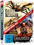 DVD Cover 'Creature Double Pack - SPIDER Edition: Camel Spiders & Lavalantula (2-Disc Set)]