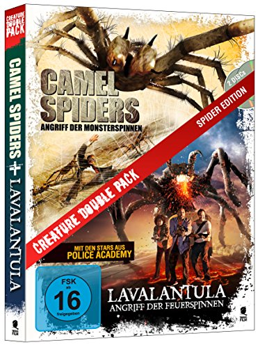 Creature Double Pack - SPIDER Edition: Camel Spiders & Lavalantula (2-Disc Set)]