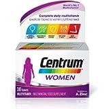 Centrum Women Multivitamin & Mineral Tablets, 24 Essential Nutrients Including Vitamin D, Complete Multivitamin Tablets…