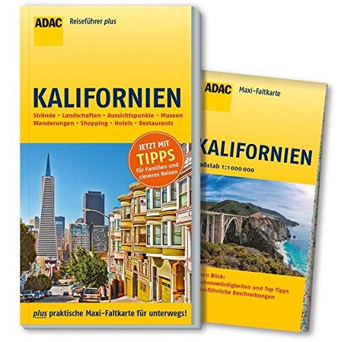 ADAC Reiseführer plus Kalifornien: mit Maxi-Faltkarte zum Herausnehmen (Silicon-valley-karte)