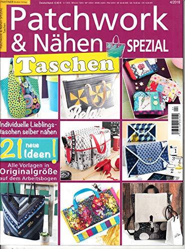 Patchwork & Nähen Spezial 4 2018 Taschen Zeitschrift Magazin Einzelheft Heft