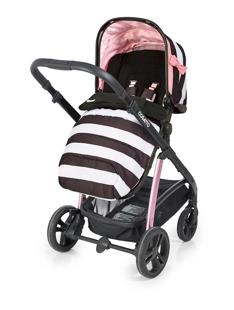 Cosatto Wow Pram and Pushchair, from Birth Carrycot and Pushchair Suitable upto 25 kg, GoLightly 3 Cosatto Backed by science, Cosatto prams are ideal for your baby; the patterns in Cosatto hoods are designed to stimulate your baby with bright, eye-catching colour and storytelling pattern Includes the from-birth carrycot (suitable for occasional overnight sleeping), then swap to pushchair unit, suitable up to 25 kg, with parent and world facing options and four recline positions Easy one-handed features, push-button carrycot removal, seat recline and calf support 3