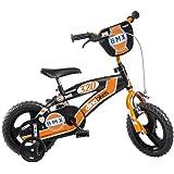 Dino Bikes BMX Garçon Marque Dinobikes 12 Pouces de 3 à 5 Ans, 125XL