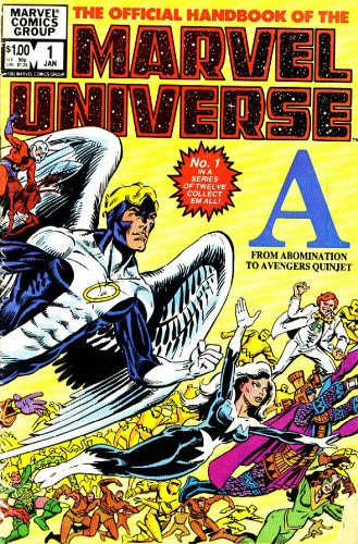 Essential Official Handbook of the Marvel Universe - Volume 1