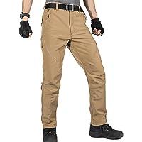 FREE SOLDIER Pantaloni da Lavoro da Uomo per attività All'aperto Pantaloni Softshell Sci Termici Impermeabile Pantaloni…