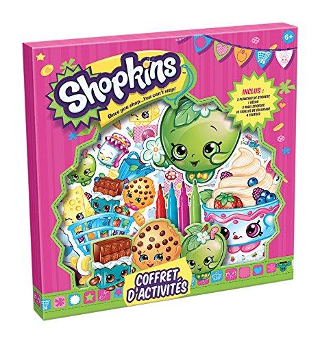 Canal Toys - CT31023 - Shopkins - Coffret d'Activités