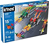 K'NEX Imagine - Power & Go Racers Building Set - 166 Pieces - Ages 7+