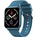 """Smartwatch per Uomo Donna Orologio Fitness Tracker 1.3"""" Colorato Touch Screen Impermeabile IP68 Smartband Orologio Sportivo U"""