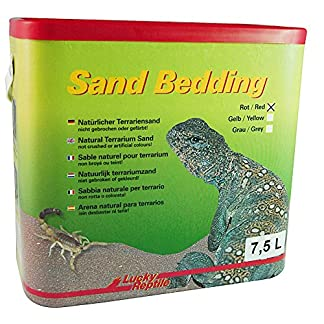 Lucky Reptile SB-LR Clay Sand Bedding, 7.5 Litre, Red 61RtvJTjbmL