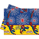 Procos 86672 Plastic Tablecloth – Ultimate Spider Man Power, 120 x 180 cm, Red/Blue/Yellow