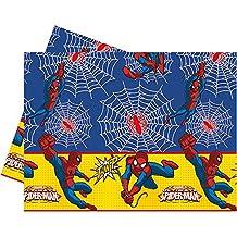 Procos 86672–Mantel de plástico Ultimate Spider Man Power, 120x 180cm, rojo/azul/amarillo