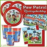 Amscan Gebutstag Party Set Paw Patrol Teller Becher Servietten Tischdecke 8 Kinder 37 Teile