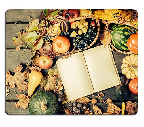 luxlady-gaming-mousepad-id-42353747-pretty-vintage-fall-vignette-with-mini-pumpkin-apple-grapes-nuts