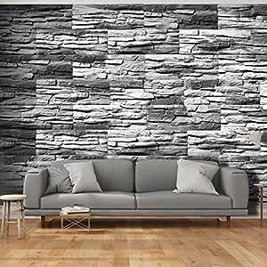 Murando fototapete steinoptik 3d 500x280 cm vlies tapete moderne wanddeko design tapete - Wanddeko steinwand ...