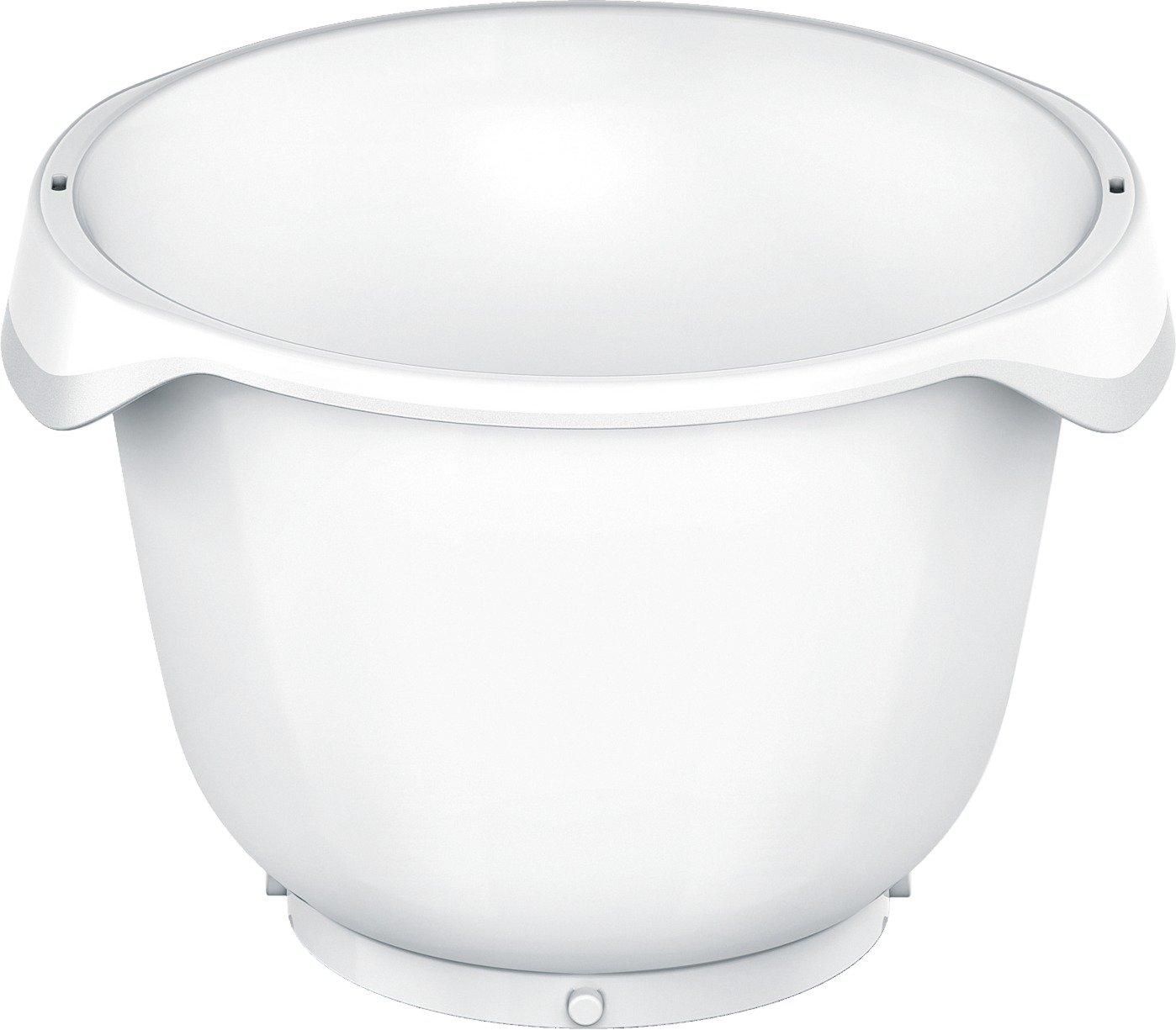 Bosch MUZ9KR1 - Bol plástico alta resistencia, accesorio opcional para robots de cocina OptiMUM, 5.5