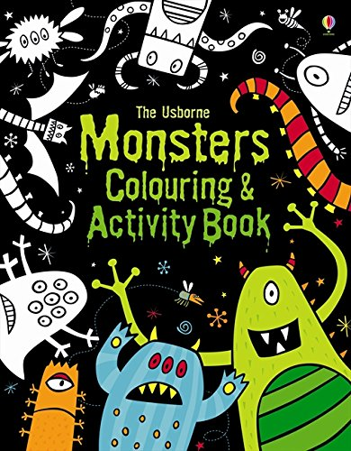 Monsters Colouring and Activity Book (Colouring Books)