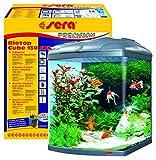 Sera 31150 Biotop Cube 130 XXL ein 130 l Süßwasser-Komplettaquarium mit PL-T5 Beleuchtung und Filtration