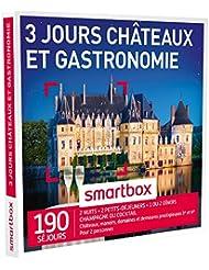 SMARTBOX - Coffret Cadeau - CHÂTEAUX ET GASTRONOMIE - 3 JOURS - 190 séjours : châteaux et manoirs jusqu'à 4* dont 26 du guide MICHELIN