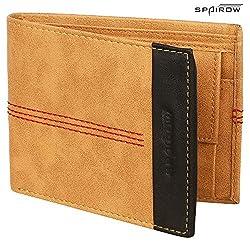 SPAIROW Beige Mens Wallet