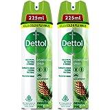 Dettol Disinfectant Sanitizer Spray Bottle | Kills 99.9% Germs & Viruses | Germ Kill on Hard and Soft Surfaces (Original Pine