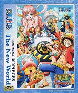 300 Piece Jigsaw Puzzle One Piece Memorial Log New World rush!! No.300-712 [Memorial log in Lagunasia 2012] jigsaw puzzle 300pcs. From TV animation ONE PIECE (japan import)