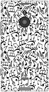 The Racoon Lean Music Jumble hard plastic printed back case / cover for Nokia Lumia 1520