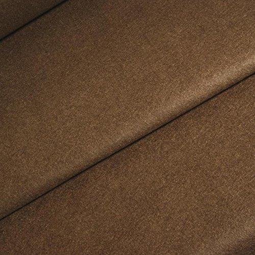 Tessuto in feltro marrone 100% acrilico (al
