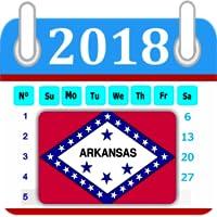 Arkansas Calendar 2018 Holiday