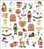 Multicolored Stickers-Christmas Toy Shop