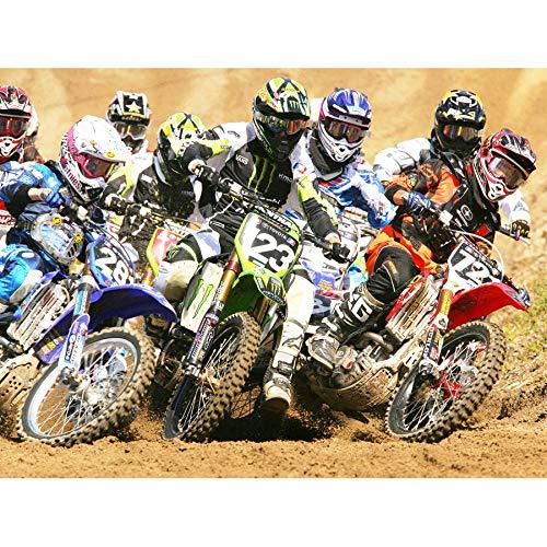 SPORT MOTOCROSS DIRT BIKES RACE MOTOR BIKE 18X24'' PLAKAT POSTER ART PRINT LV11172