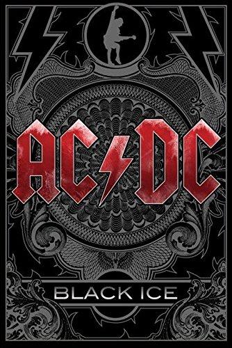 Poster Ac Dc - black ice, 61 x 91 cm