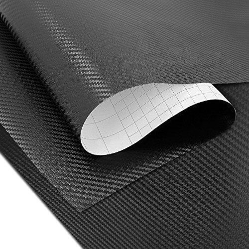 Preisvergleich Produktbild Wrapping Klebefolie Suzuki Intruder VL 1500 LC VL1500LC Carbon-Look 3D Motea 75x100cm