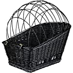 Rear Mounted Bicycle Wicker Basket for Pets Rear Mounted Bicycle Wicker Basket for Pets 61RvIODTBjL