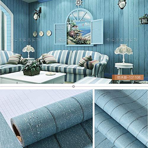lsaiyy Selbstklebende Tapete Tapete grau wasserdicht 60cm breit zehn Meter 10 Meter lang EIN-Rollen-Schlafzimmer Schlafsaal warme Tapete-60CMX10M -