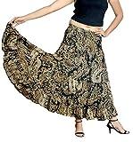 Cotton Breeze Women's Cotton A-line Skir...